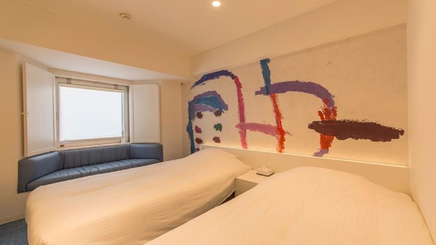402号室 ツインルーム