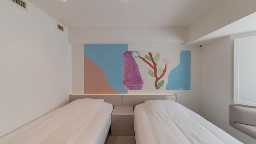 410号室 ツインルーム