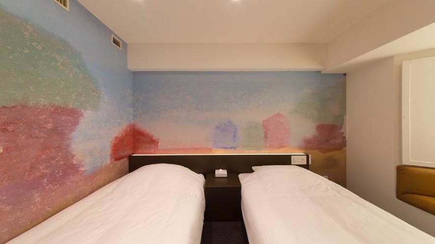 910号室 ツインルーム