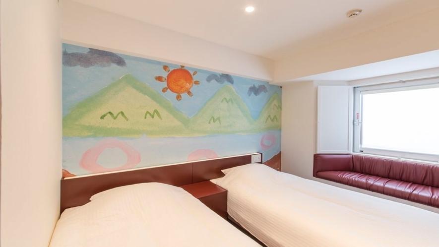 908号室 ツインルーム