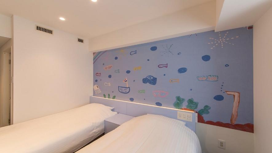 803号室 ツインルーム