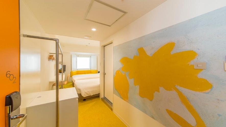 602号室 ツインルーム