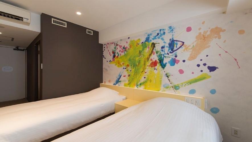 303号室 ツインルーム