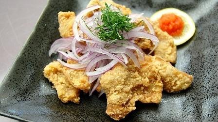 夕食メニュー:鶏のから揚げ