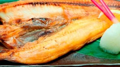 夕食メニュー:焼き魚 定食にもできます。