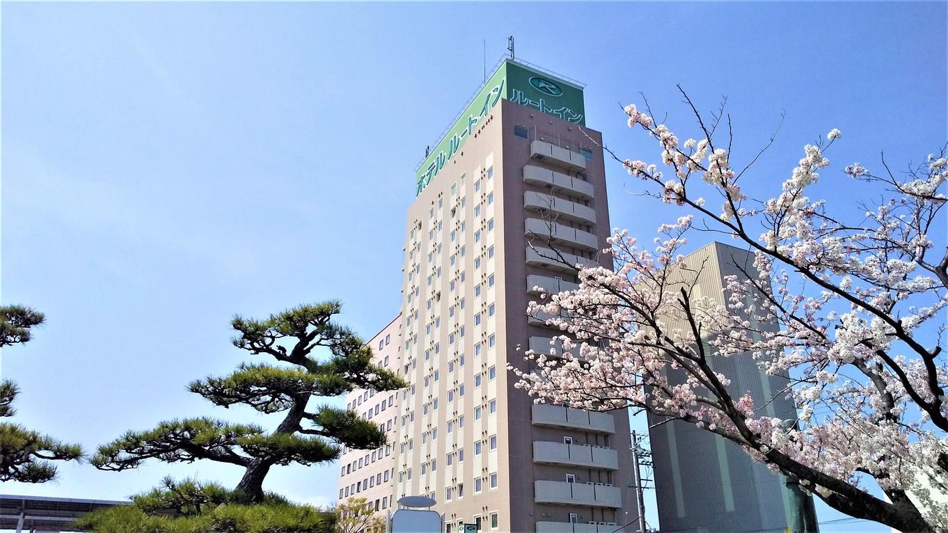 桜と松とルートイン