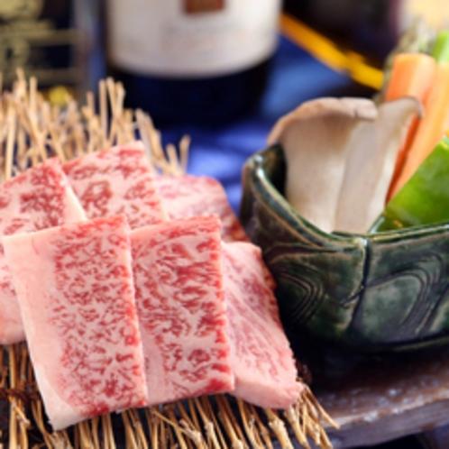 赤牛の陶板焼き