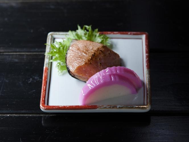 会席料理 前菜 焼き魚(一例)