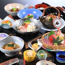 *【夕食一例】四季の旬、山海の珍味、郷土の実りを巧みにアレンジ。