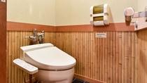 *【客室】温水洗浄機機能付トイレは本館全客室完備。