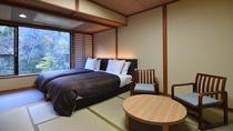 *【客室一例】本館和室ベッドタイプ