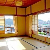 【楓】2階からの景色は、四季折々の表情のうつり変わりをお愉しみいただけます。
