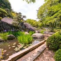 *【円通寺公園】園内には、本堂・開山堂などの寺院や庭園が広がります。