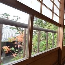 【お部屋からの景色一例】四季折々の風景をお楽しみくださいませ。