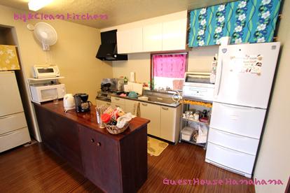 広くて綺麗なキッチン
