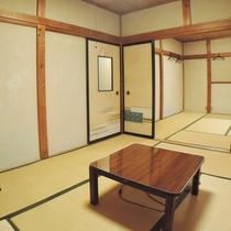 ◆和室12畳/広々とした和室では最大7名様までOK!二世代・三世代のご旅行に最適