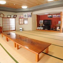 ◆食堂一例/民宿しみずでは、季節を大事にし春夏秋冬の味をご提供します。