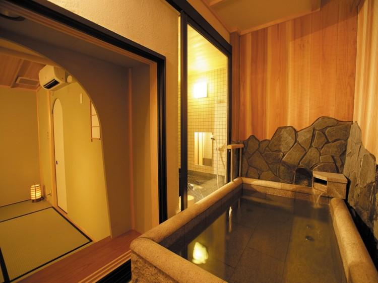 8畳温泉付和室(眺望なし)