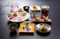 春懐石料理イメージ