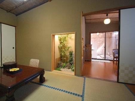 【ワケあり】露天風呂付き客室 『末広』1階眺望なし/和室6畳