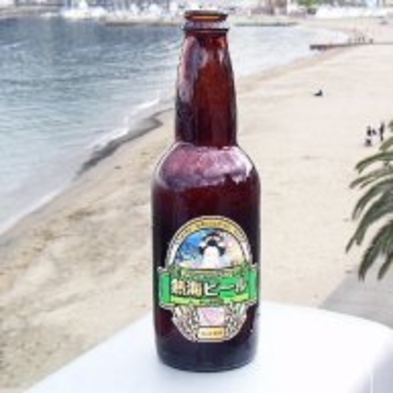 ★★美味しいお酒と海の幸★★ 地ビールで乾杯&日本酒『久保田千寿 四合瓶』付き≪浜焼きプラン≫