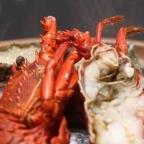 【プラン料理】浜焼きアップ