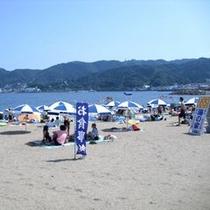 【夏】長浜海水浴場の雰囲気