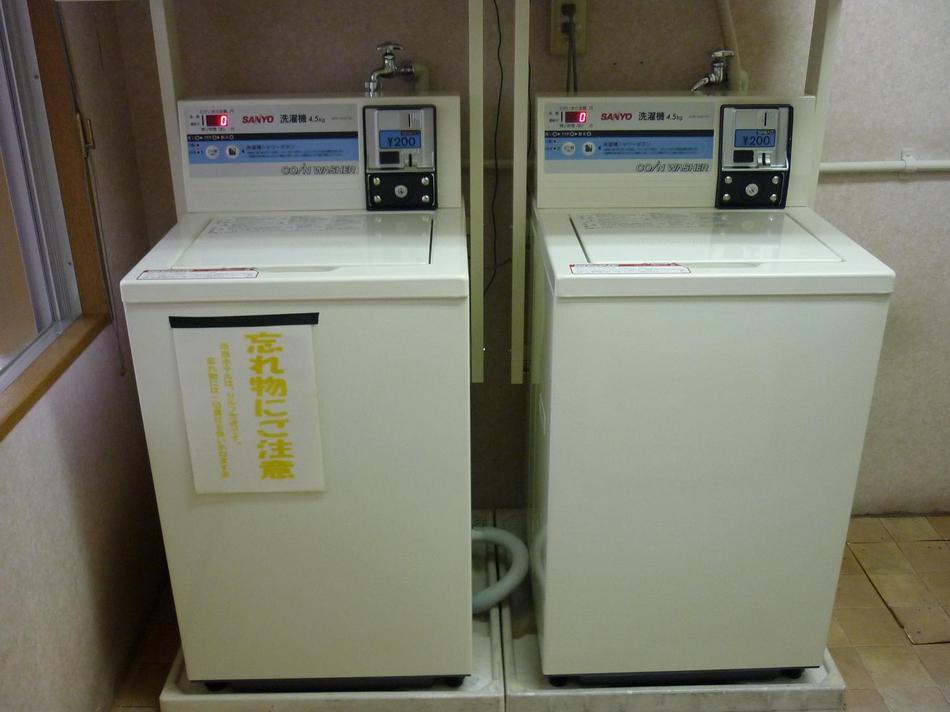 3階ランドリー室洗濯機・乾燥機