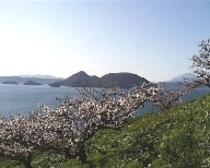 春の洞爺湖