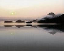 幻想的な洞爺湖