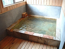 家族風呂 石風呂