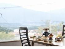 食事会場からの風景