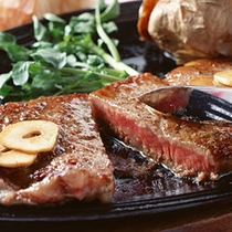 福島牛ステーキ板(一例)