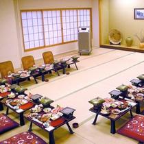 当館宴会場!忘年会や、新年会、歓迎会、送別会など、さまざまな宴会でご利用いただけます。