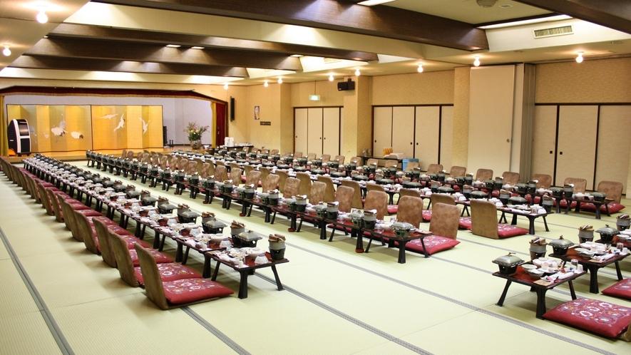 【宴会場 天竜】忘新年会・歓送迎会に♪最小6~40名様まで受入可能です。
