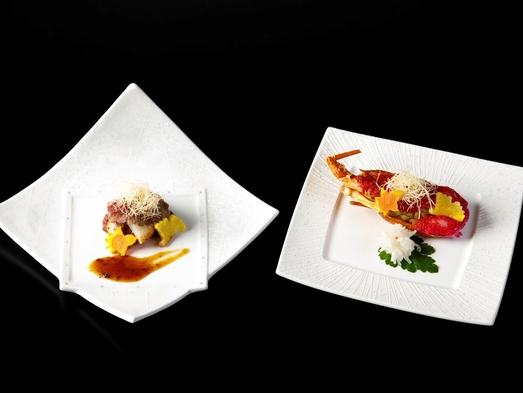 最上級◆特選会席〜2021年秋〜◆自慢の金目鯛姿煮◆伊勢海老or国産牛の選択料理◆朝食は和定食