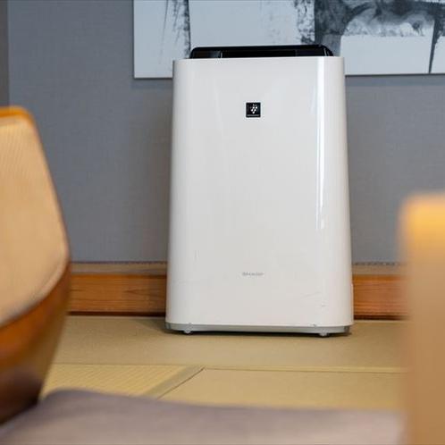 「粋」のお部屋に空気清浄機