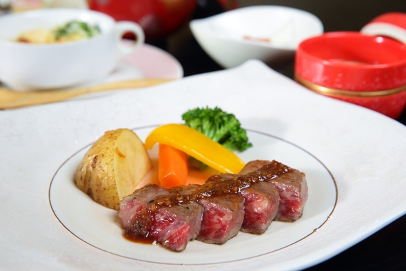 【お料理全て名水仕込み】和会席膳和牛堪能プラン