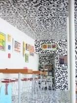 美術館のカフェスペース