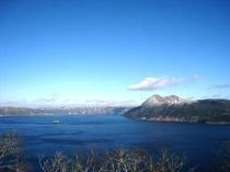 摩周ブルーの摩周湖