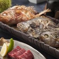 焼き魚はお好きなものを一つ。