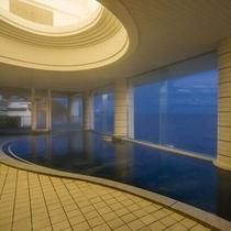 展望大浴場の奥には露天風呂がございます