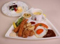 【夕食】お子様洋食(イメージ)