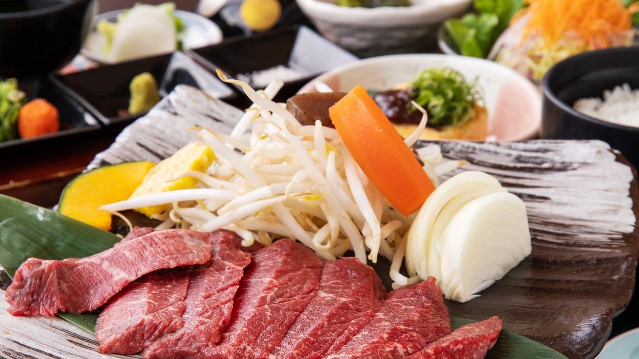 ★松阪牛赤身ステーキ