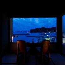 客室【海の庭】夜明け