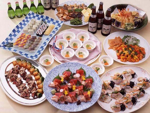 宴会料理の一例