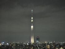 東京スカイツリー(R)ライティングデザイン「雅」