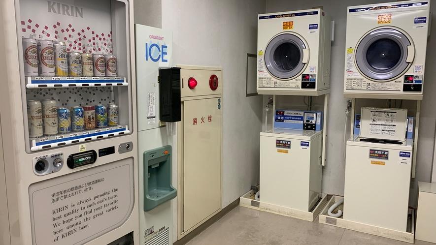 ★10階ランドリー・アルコール・製氷機