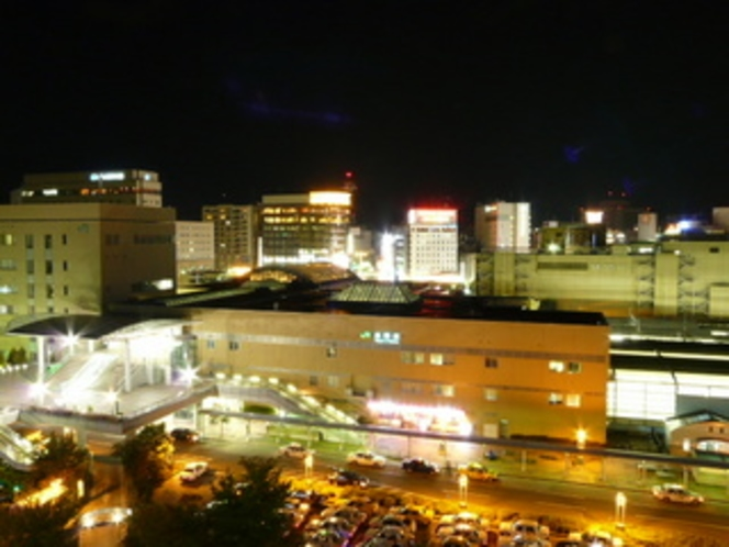 長野駅夜景