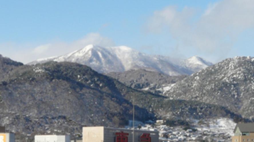 冬の飯縄山